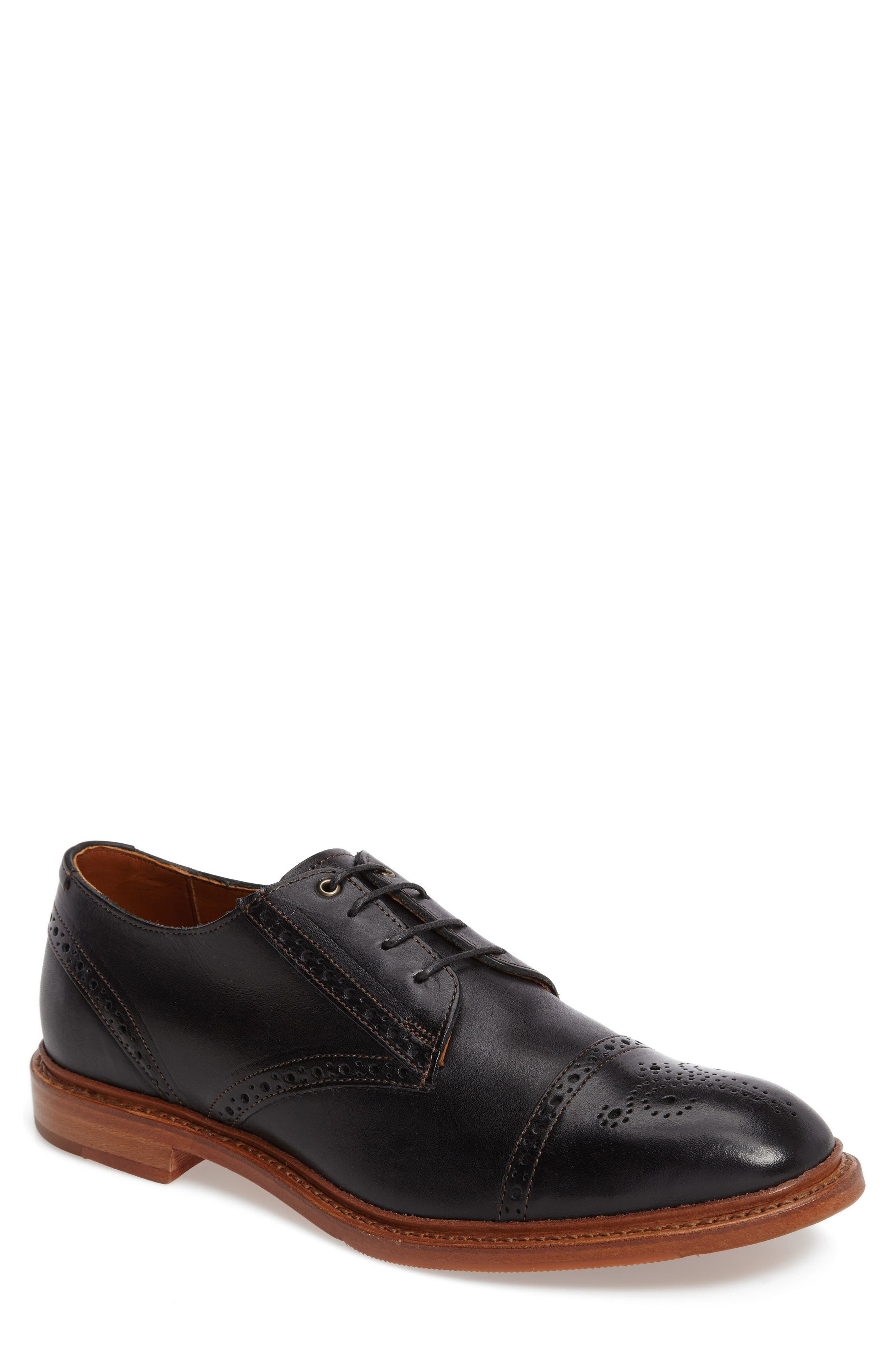 Image of Allen Edmonds 'Bainbridge' Cap Toe Derby - Multiple Widths Available