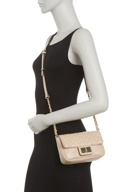 Image of Karl Lagerfeld Paris Agyness Quilted Crossbody Bag