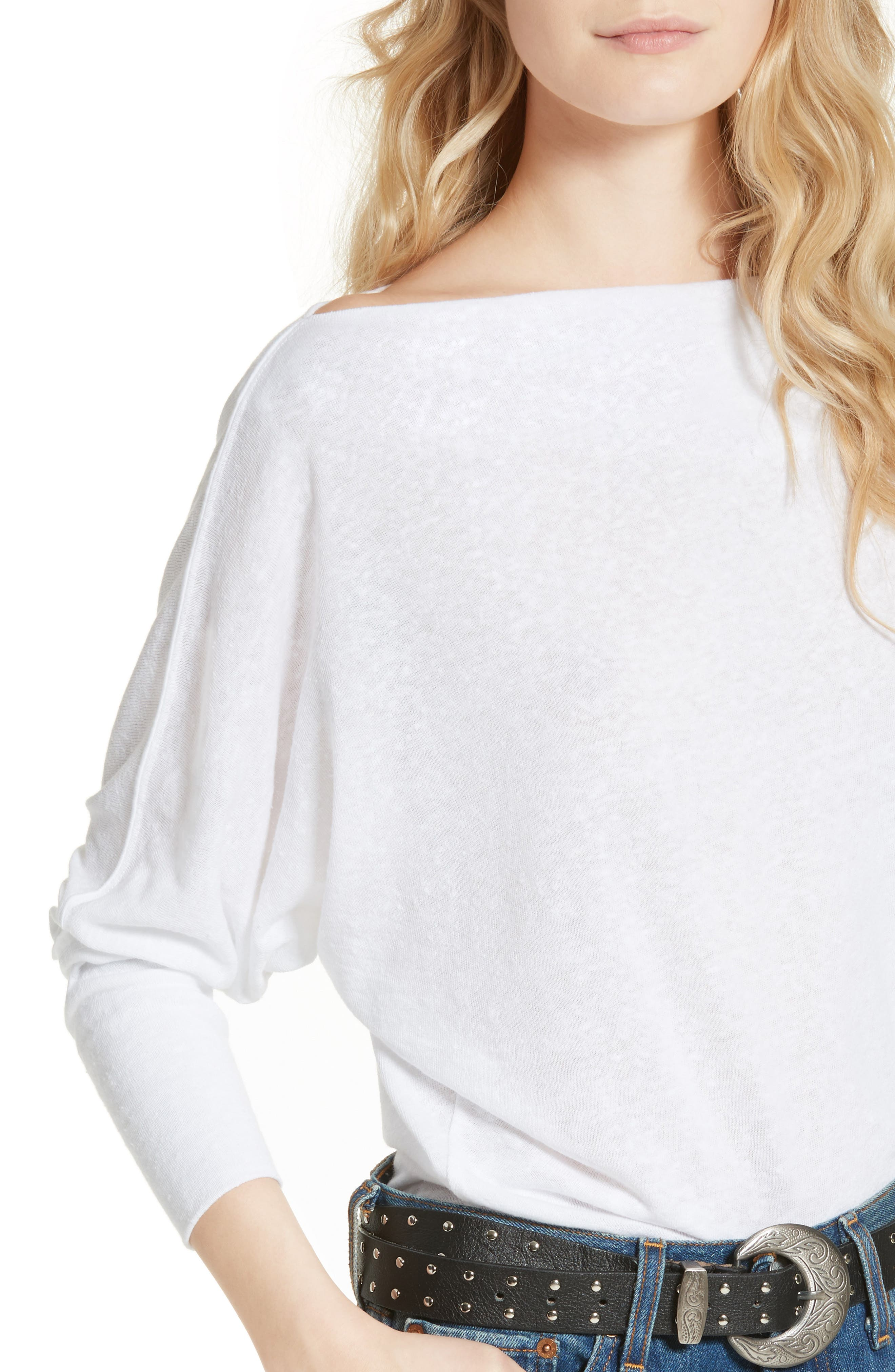 ,                             Valencia Off the Shoulder Pullover,                             Alternate thumbnail 22, color,                             100