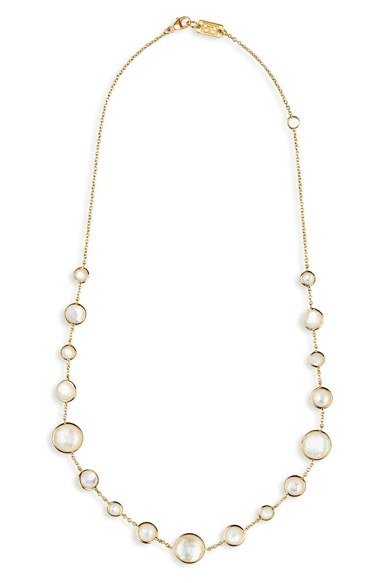 IPPOLITA Lollipop Lollitini Necklace, Main, color, GOLD/ PEARLS