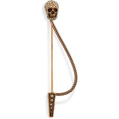 Alexander Mcqueen Skull Pin Brooch