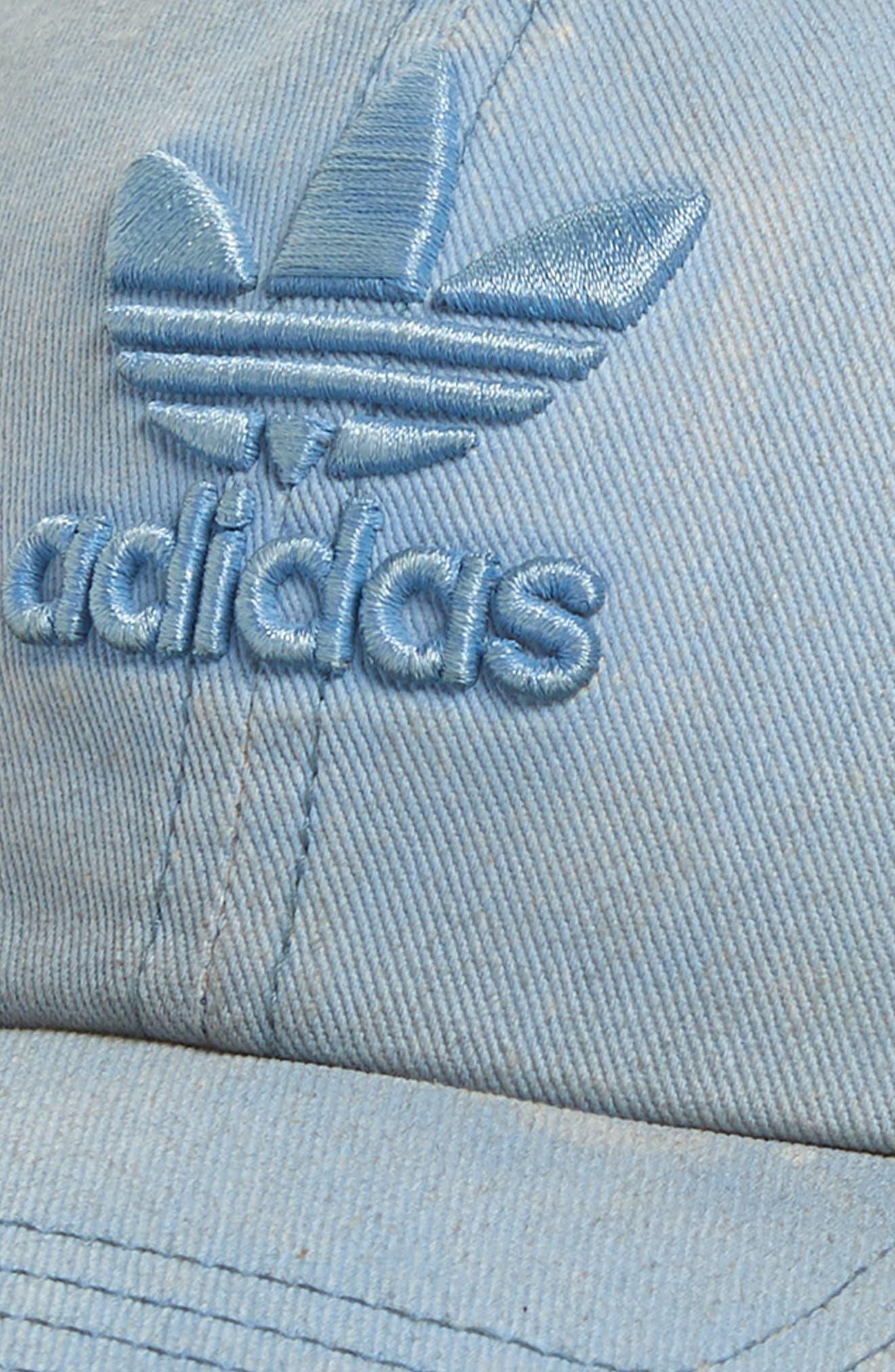 ,                             Originals Relaxed Overdyed Baseball Cap,                             Alternate thumbnail 3, color,                             TACTILE BLUE