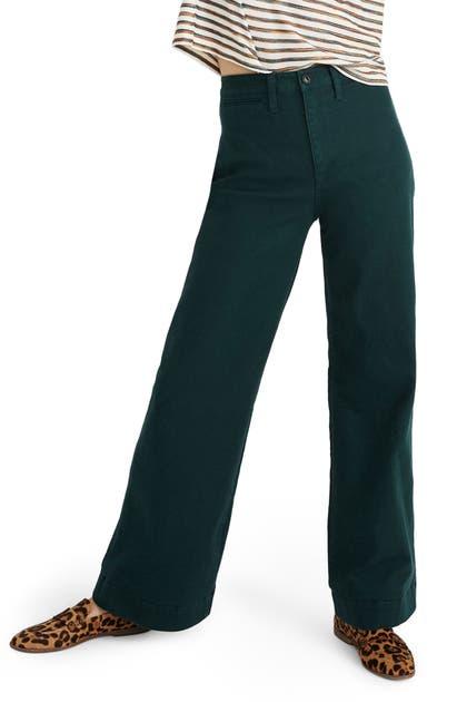 Madewell Pants EMMETT WIDE-LEG PANTS