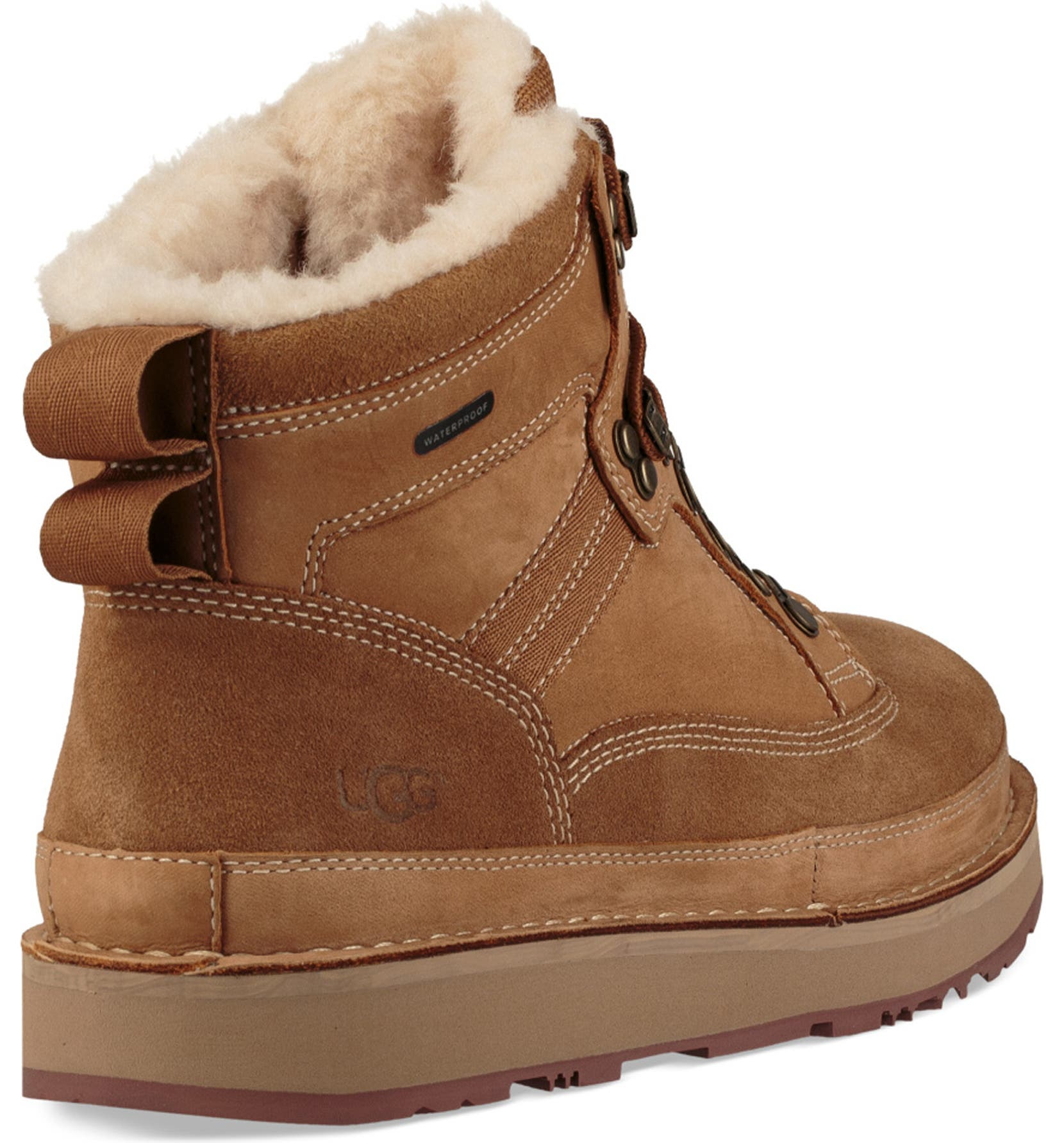 Ugg Avalanche Hiker Suede & Shearling Boots