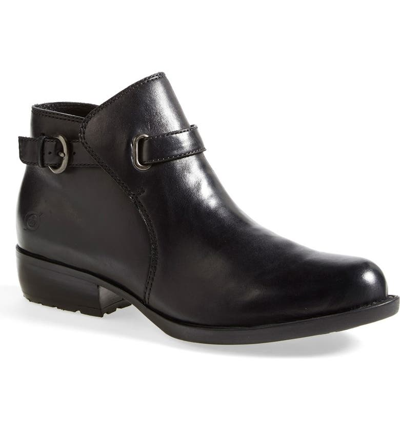 BØRN 'Jem' Leather Bootie, Main, color, 001
