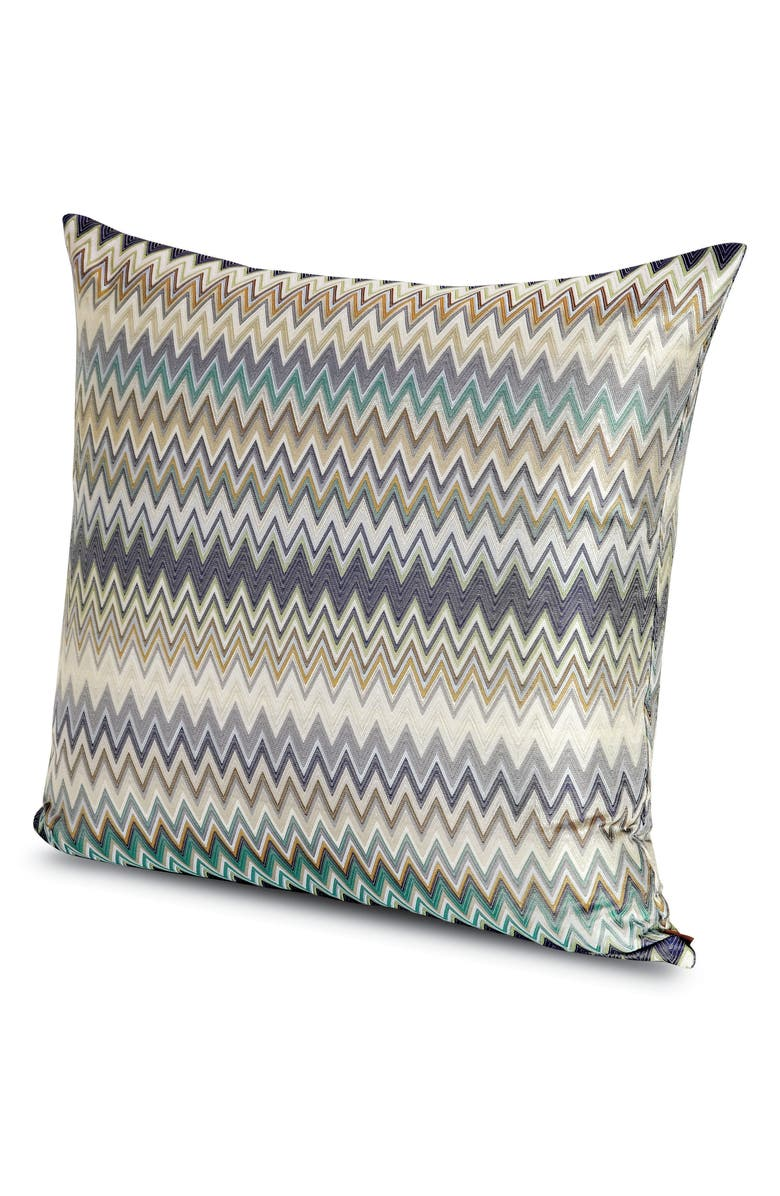MISSONIHOME Masuleh Chevron Accent Pillow, Main, color, MULTI GREY