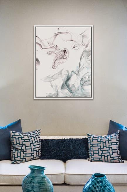 Image of PTM Images Emulsion I-Medium Floater Framed Canvas