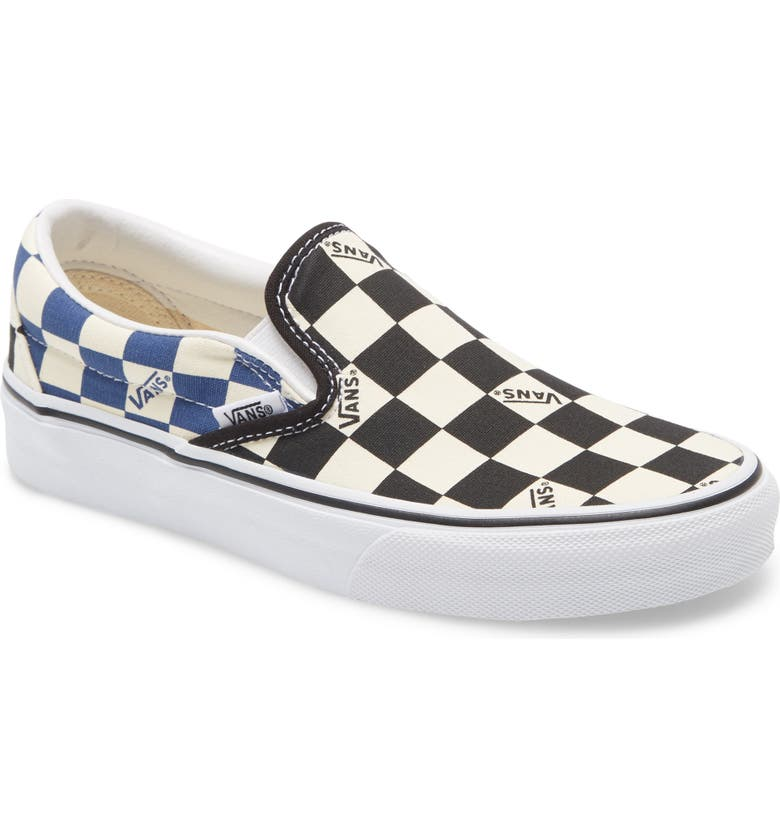 VANS Classic Slip-On Sneaker, Main, color, 001