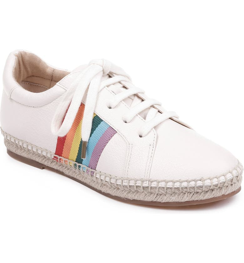 SPLENDID Sada Espadrille Sneaker, Main, color, OFF WHITE LEATHER
