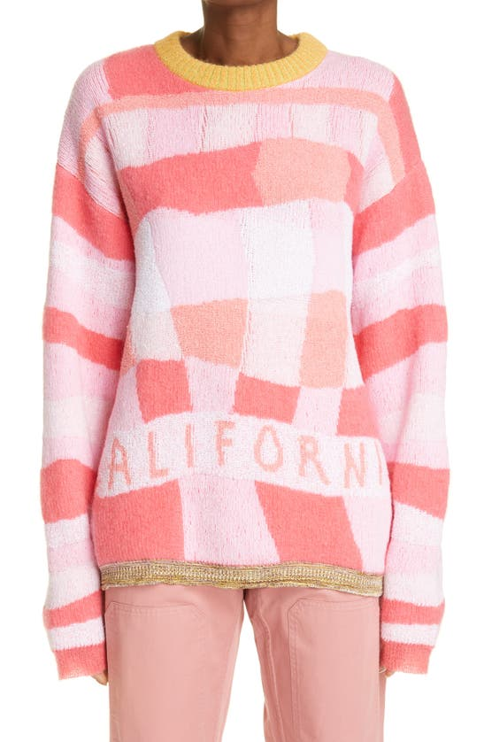 Erl Clothing CALIFORNIA COTTON BLEND SWEATER