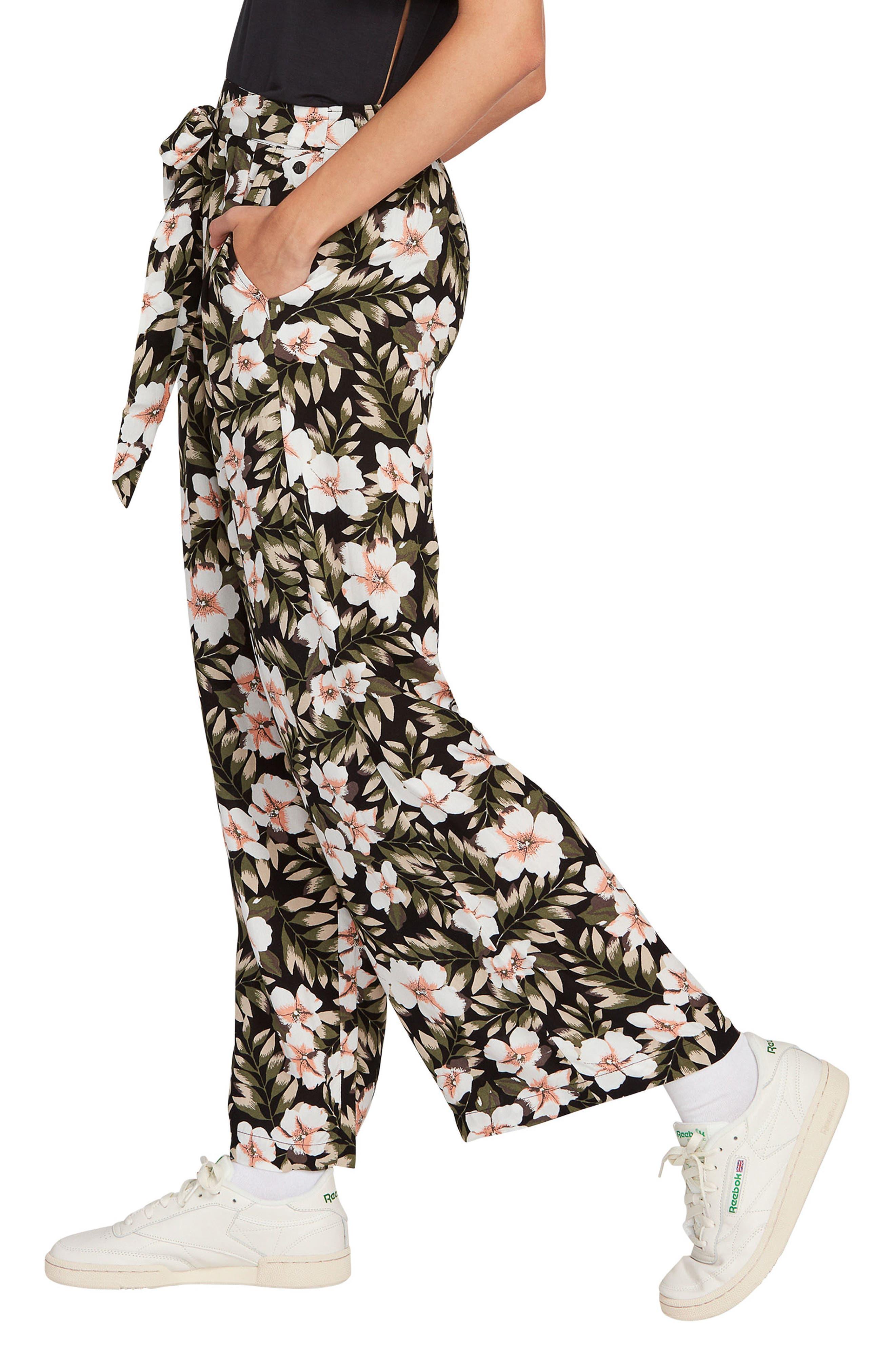 Volcom   x Coco Ho Belted Wide Leg Pants   Nordstrom Rack