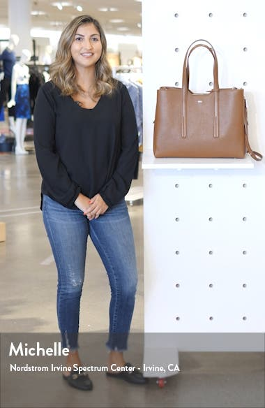 Taylor Leather Business Tote, sales video thumbnail