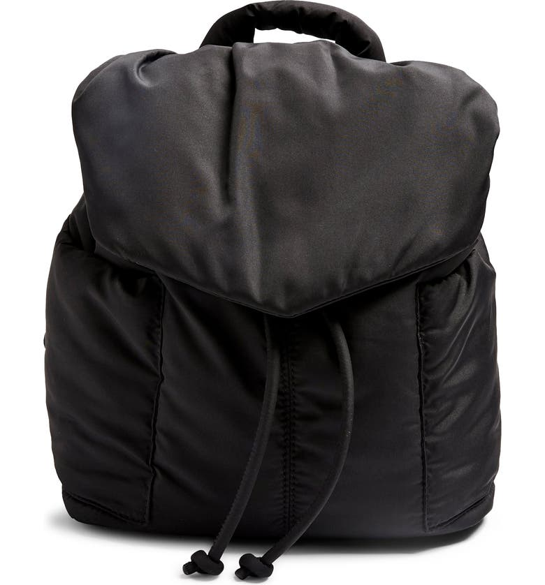 TOPSHOP Puffed Backpack, Main, color, 001