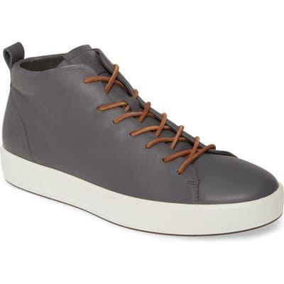 Ecco Soft 8 Mid Sneaker - Grey