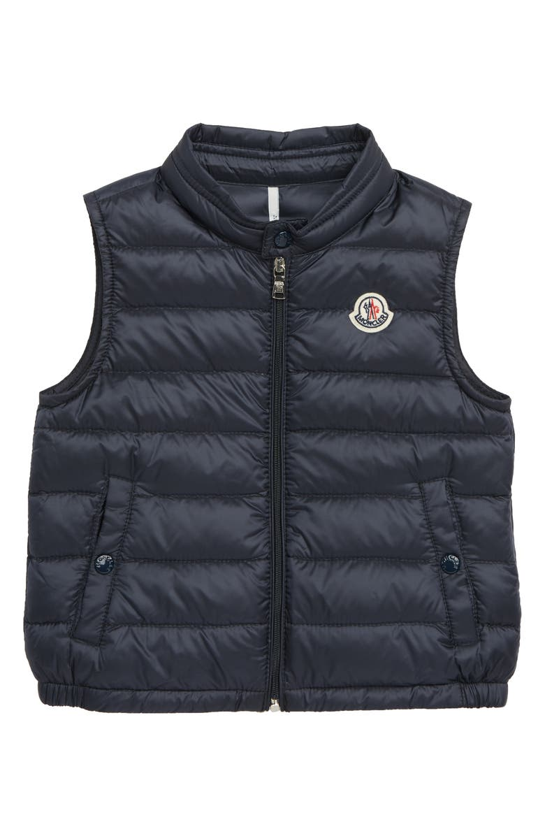 MONCLER New Amaury Quilted Down Vest, Main, color, 778 NAVY