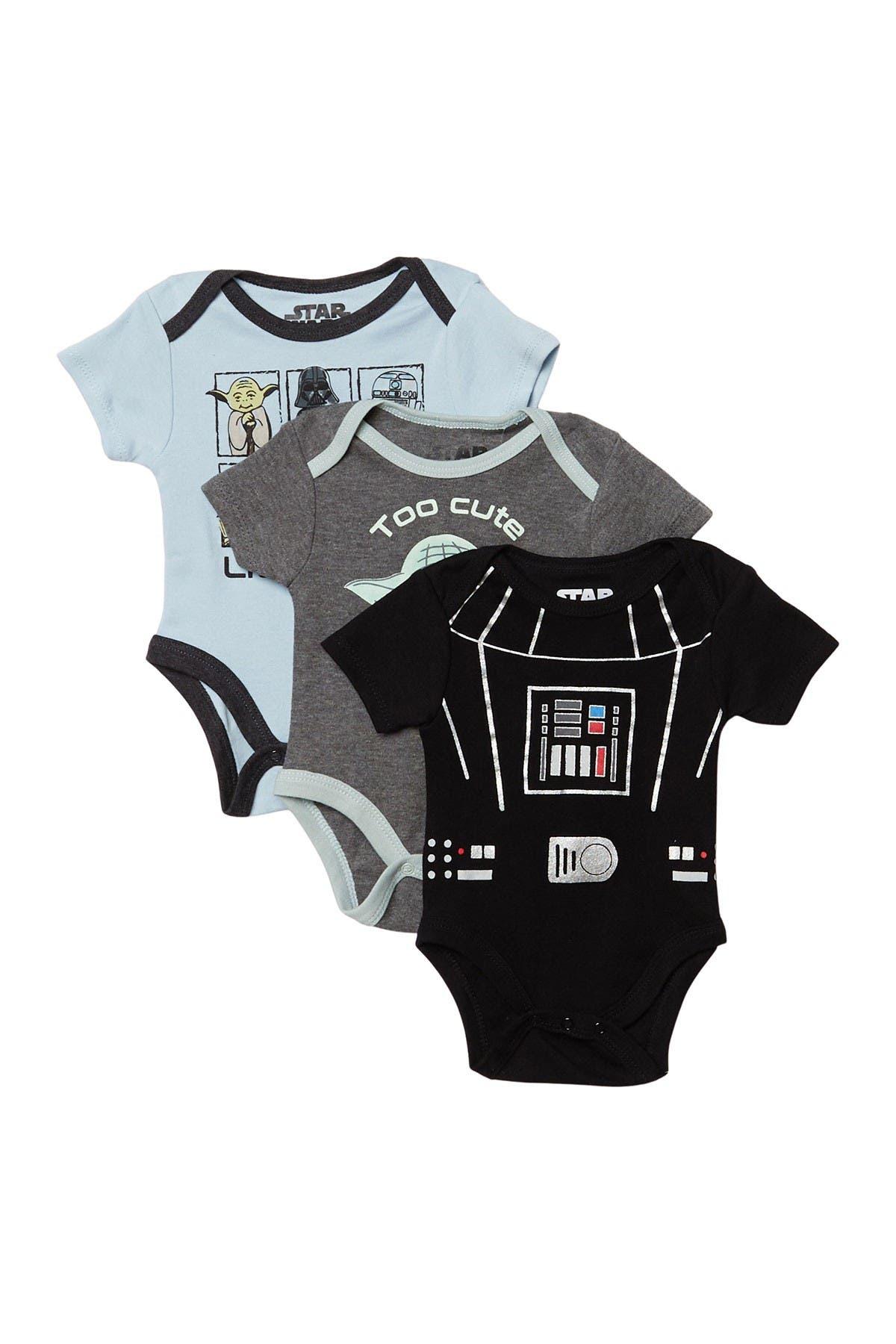 Image of HAPPY THREADS Star Wars Bodysuits - Set of 3