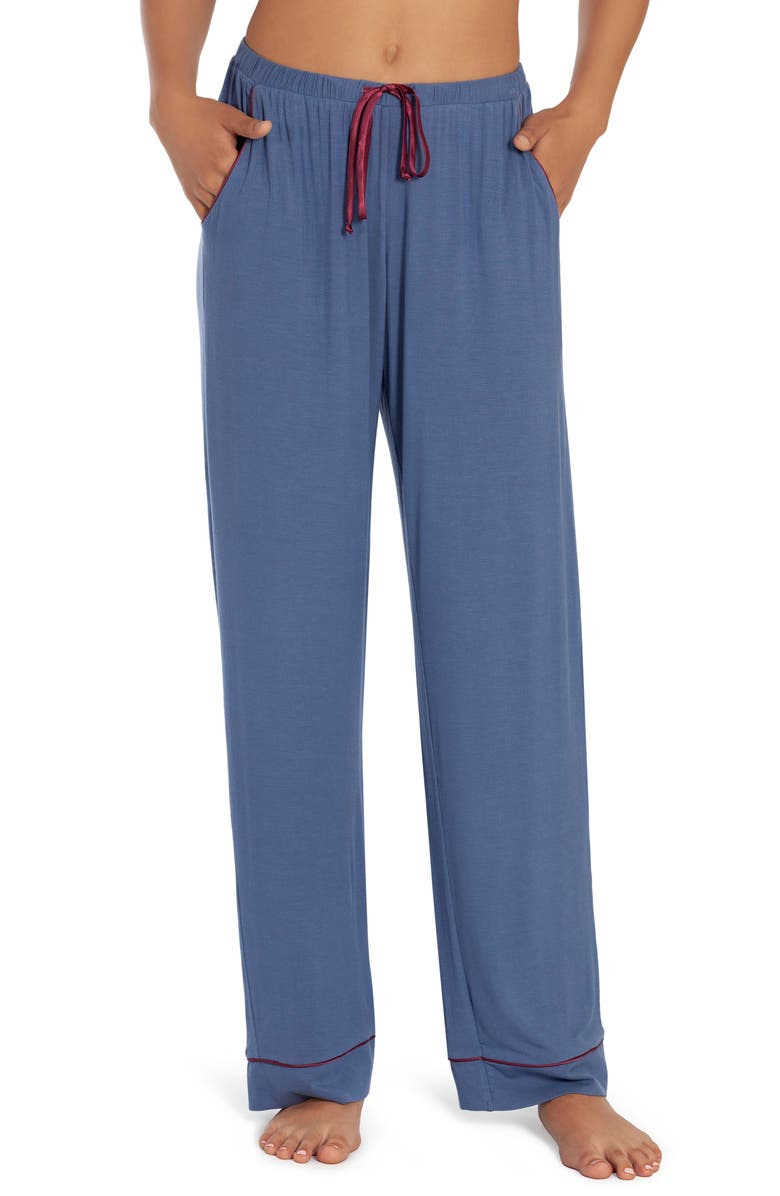 IN BLOOM BY JONQUIL Lexie Pajama Pants, Main, color, SLATE BLUE