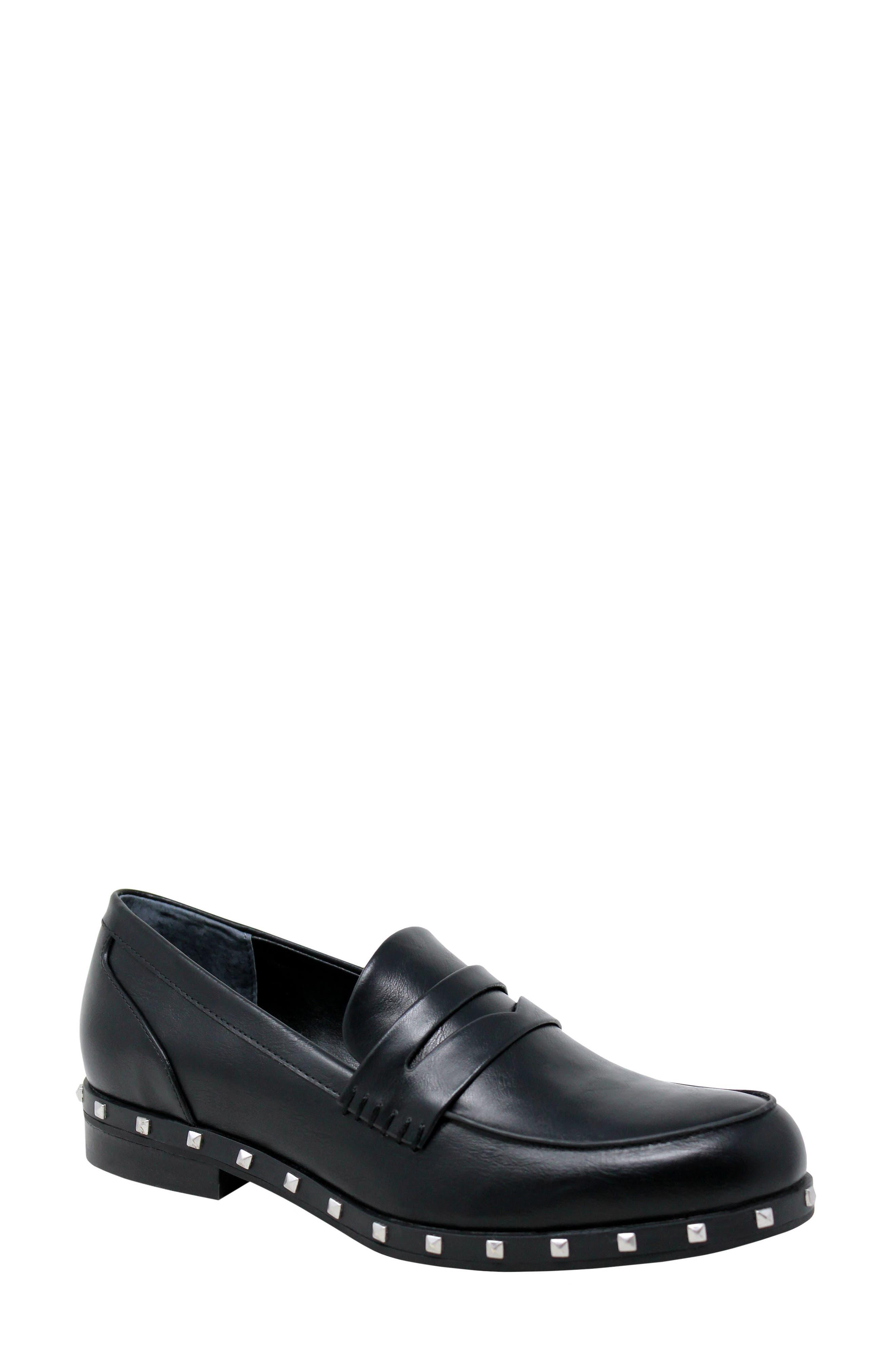 Jourdan Stud Detail Loafers