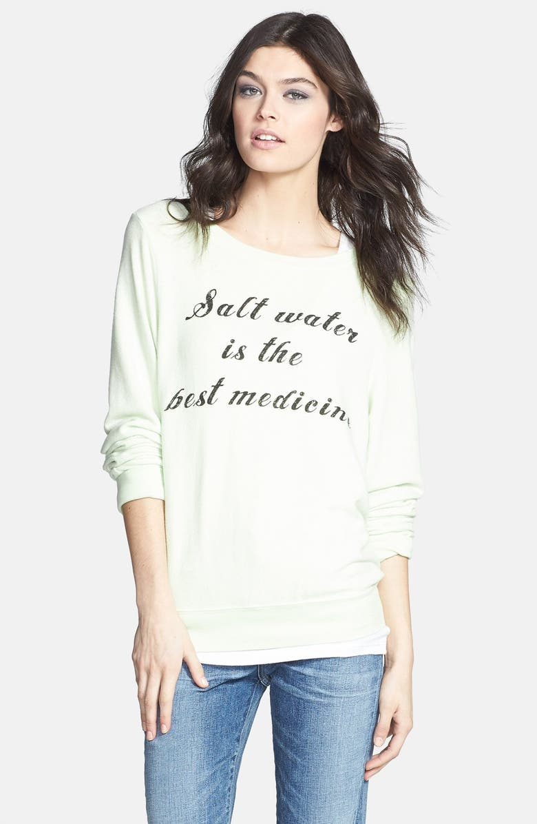 WILDFOX 'Saltwater' Sweatshirt, Main, color, 330