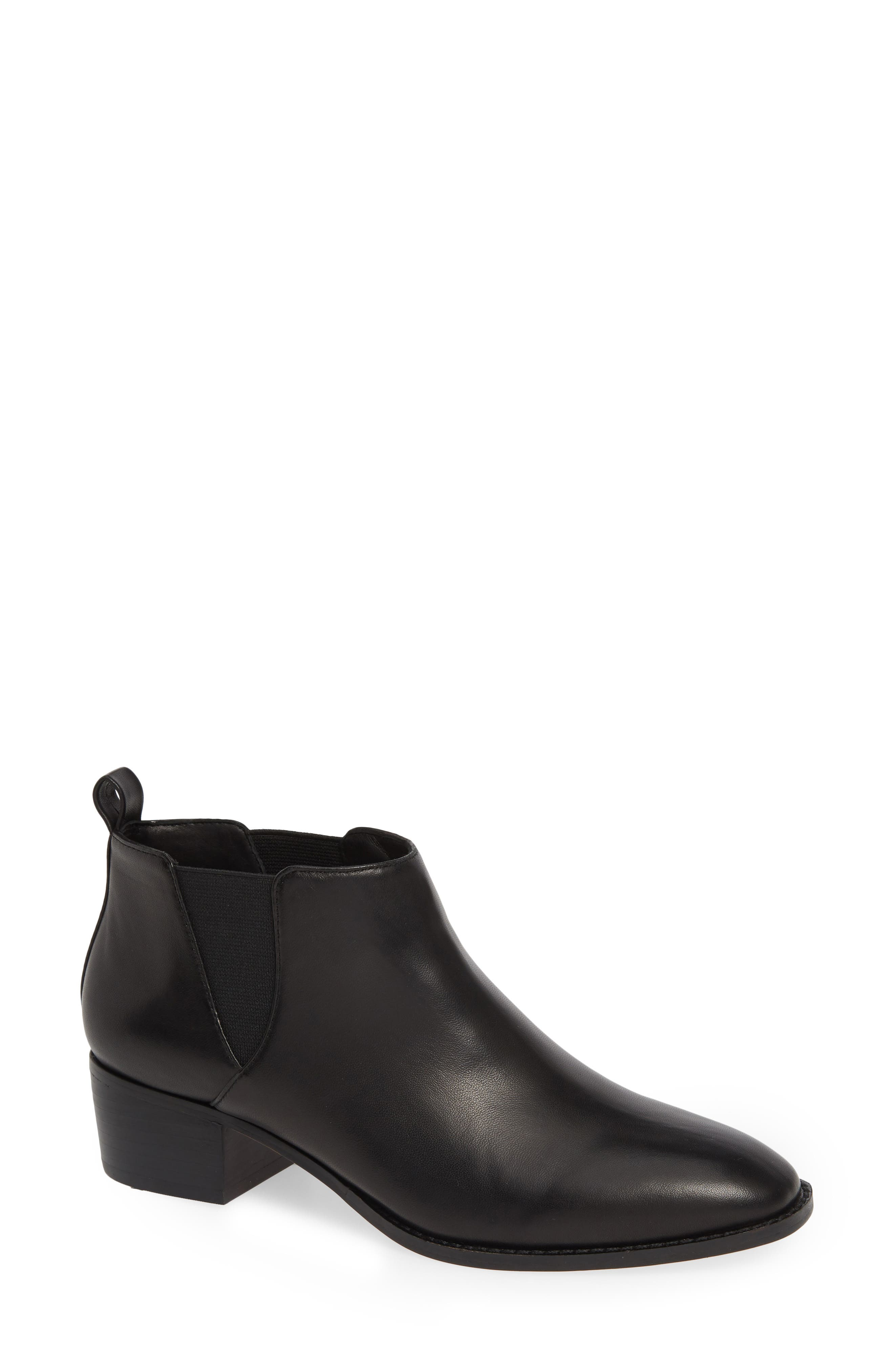 Sole Society Jahlily Chelsea Bootie- Black