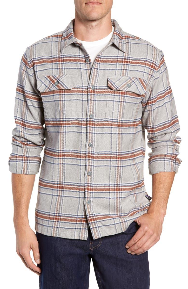 2fa9431c1 Patagonia 'Fjord' Regular Fit Organic Cotton Flannel Shirt | Nordstrom