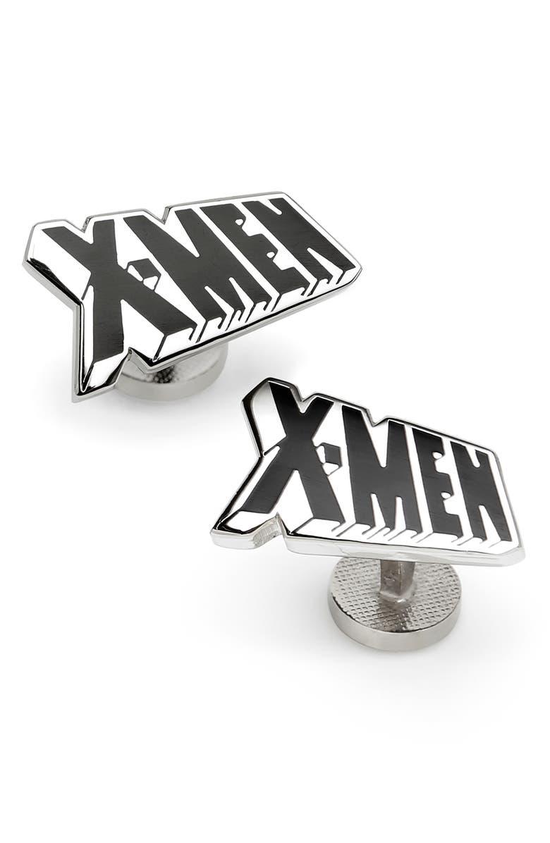 CUFFLINKS, INC. X-Men Cuff Links, Main, color, METALLIC SILVER