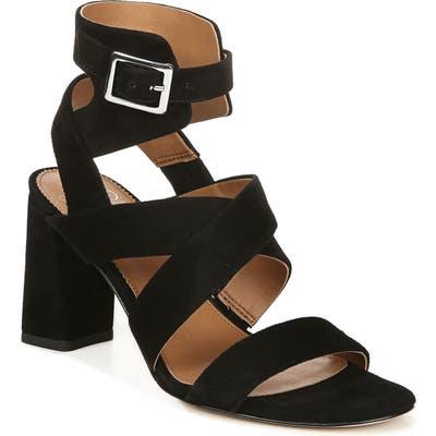 Sarto By Franco Sarto Tristan Strappy Block Heel Sandal- Black