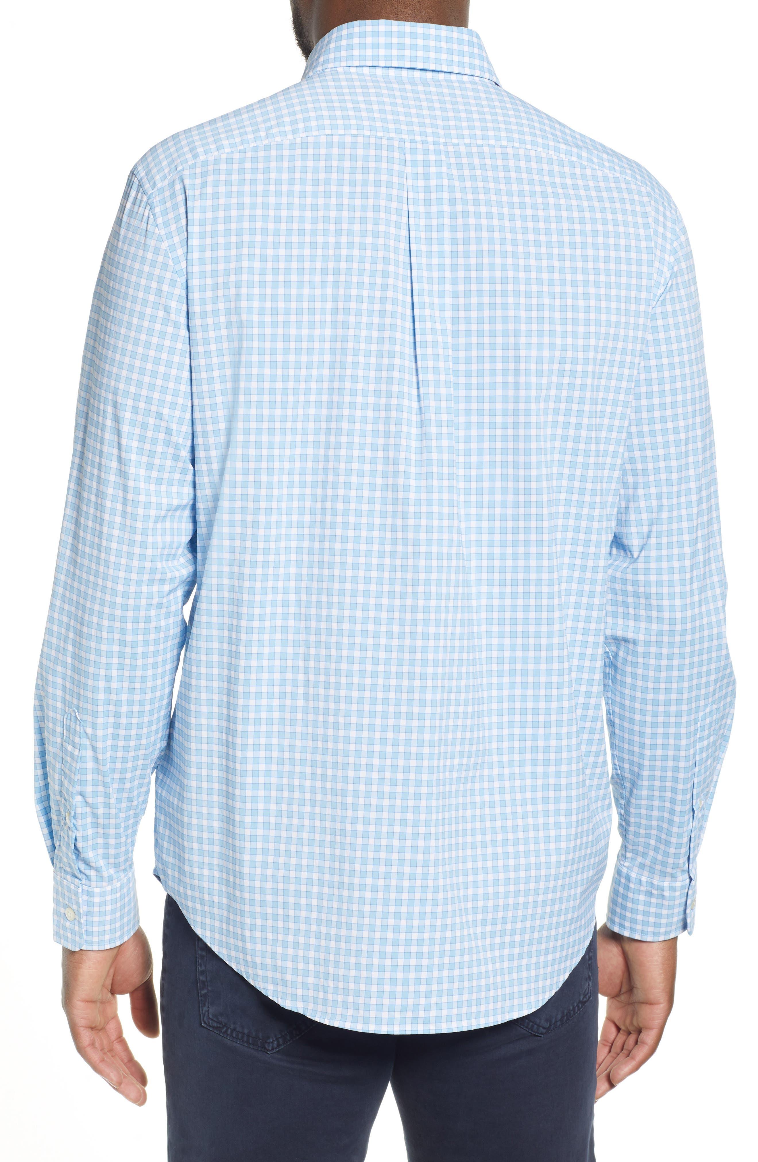 ,                             Bermuda Tucker Regular Fit Performance Sport Shirt,                             Alternate thumbnail 3, color,                             JAKE BLUE