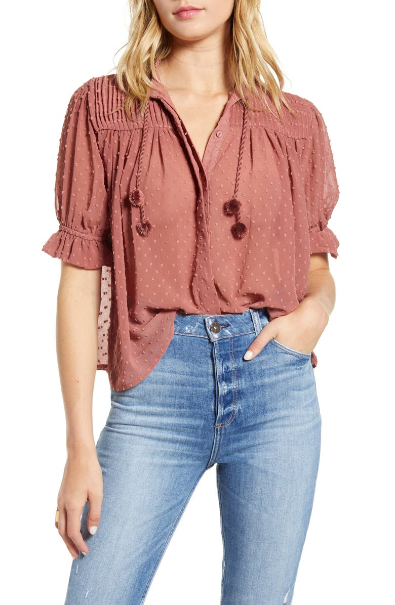 BISHOP + YOUNG Sienna Blouse, Main, color, 650