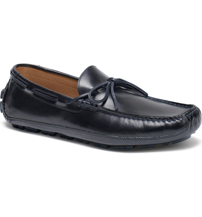 TRASK Dillion Driving Loafer, Main, color, NAVY LEATHER