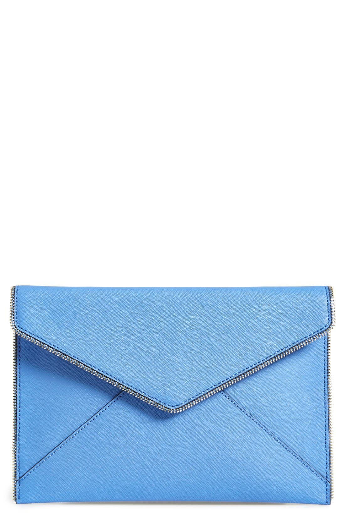 ,                             Leo Envelope Clutch,                             Main thumbnail 130, color,                             250