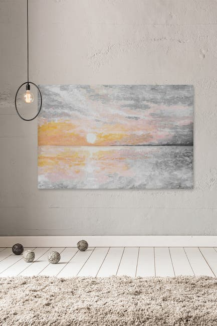 "Image of Marmont Hill Inc. Dusky Sunset Painting Print on Wrapped Canvas - 36"" x 24"""