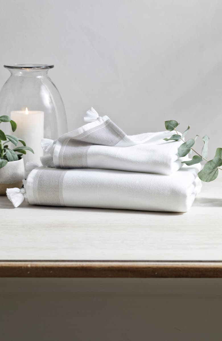 THE WHITE COMPANY St. Ives Hammam Bath Sheet, Main, color, 100