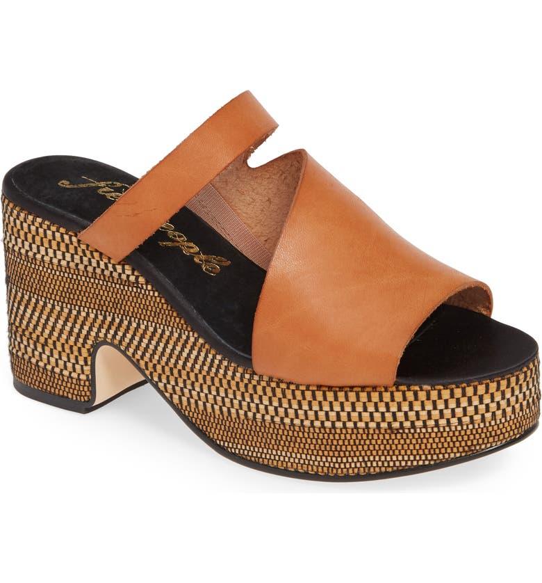 Free People Demi Platform Slide Sandal Women