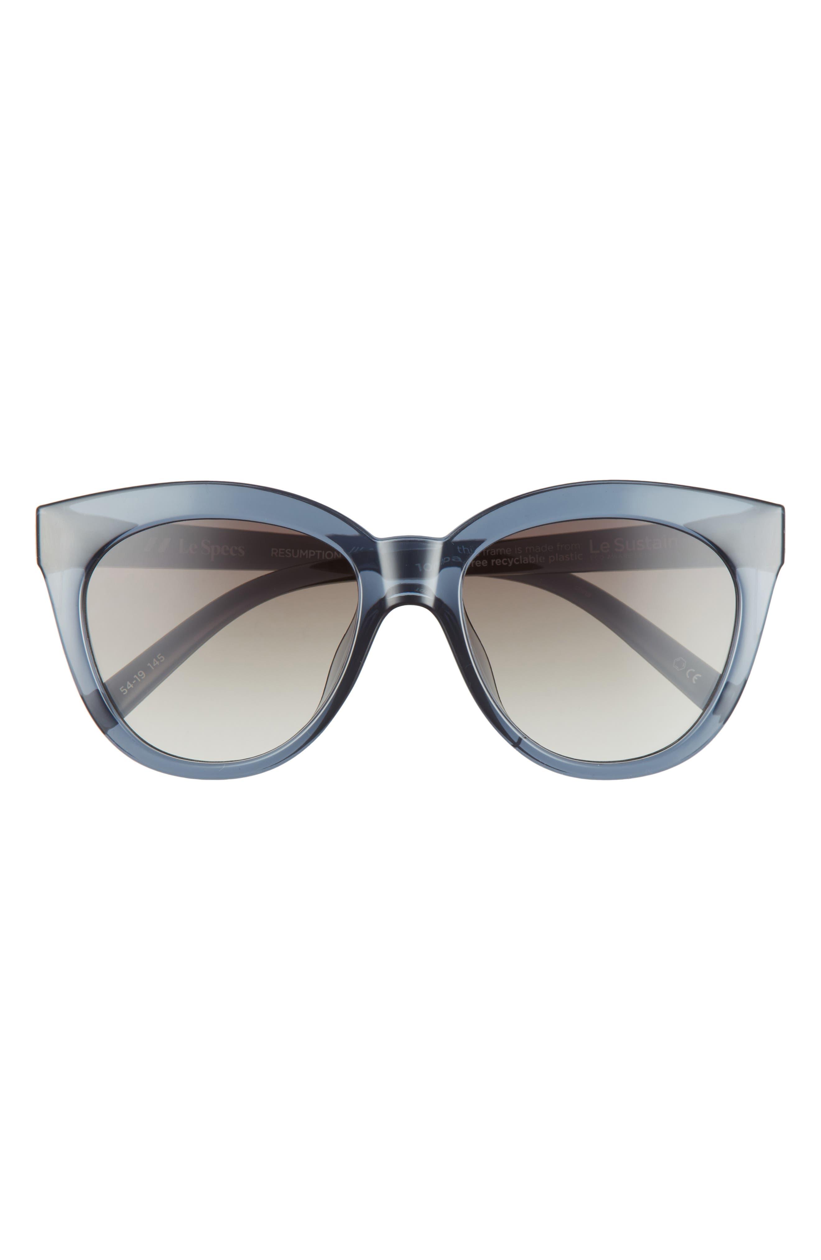 Resumption 54mm Round Cat Eye Sunglasses