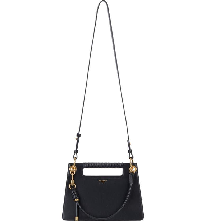 GIVENCHY Small Whip Top Handle Bag, Main, color, BLACK
