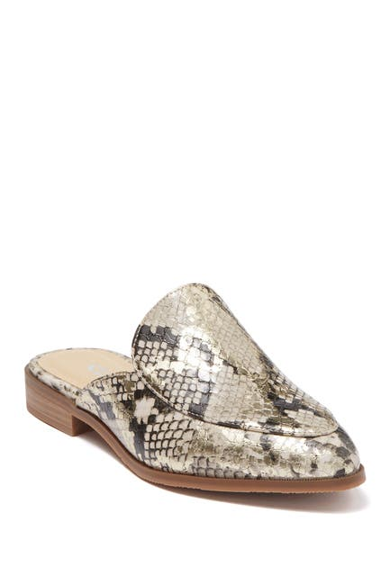 Image of CL by Laundry Flight Snake Embossed Mule