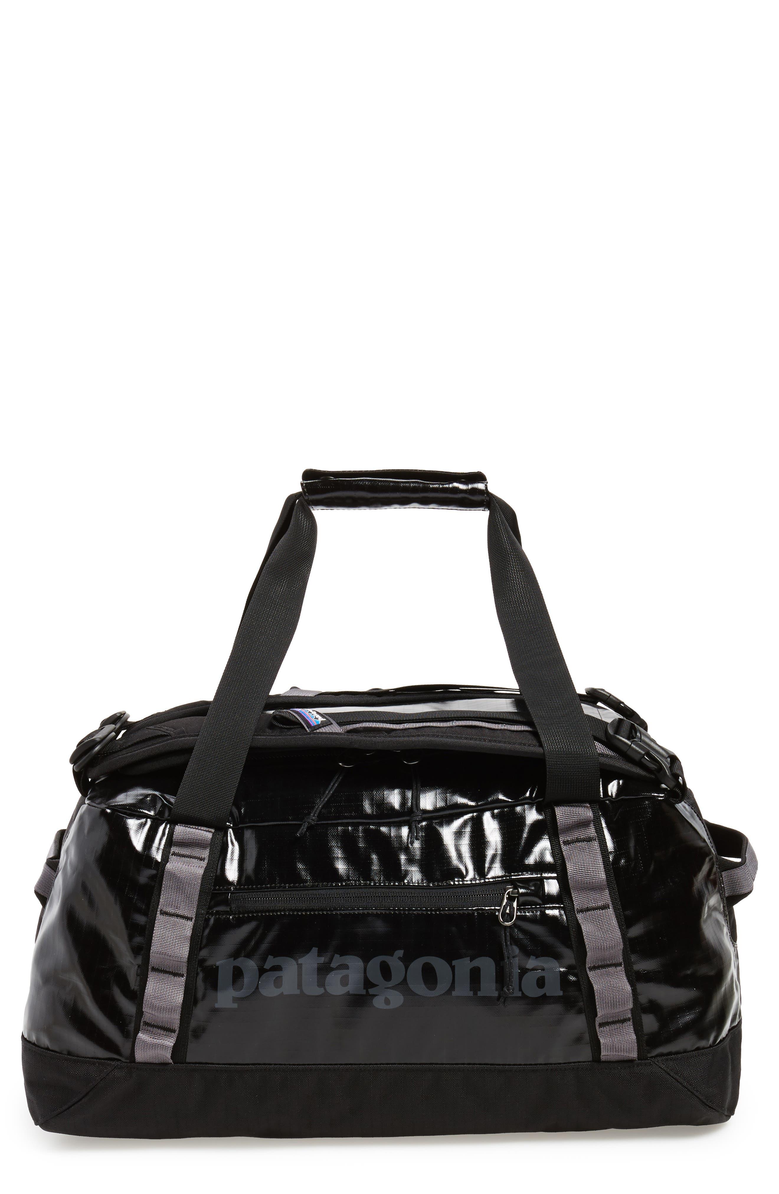,                             Black Hole Water Repellent 45-Liter Duffle Bag,                             Main thumbnail 27, color,                             001