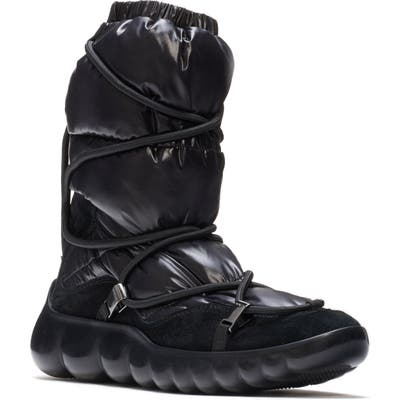 Moncler Cora Stivale Snow Boot, Black