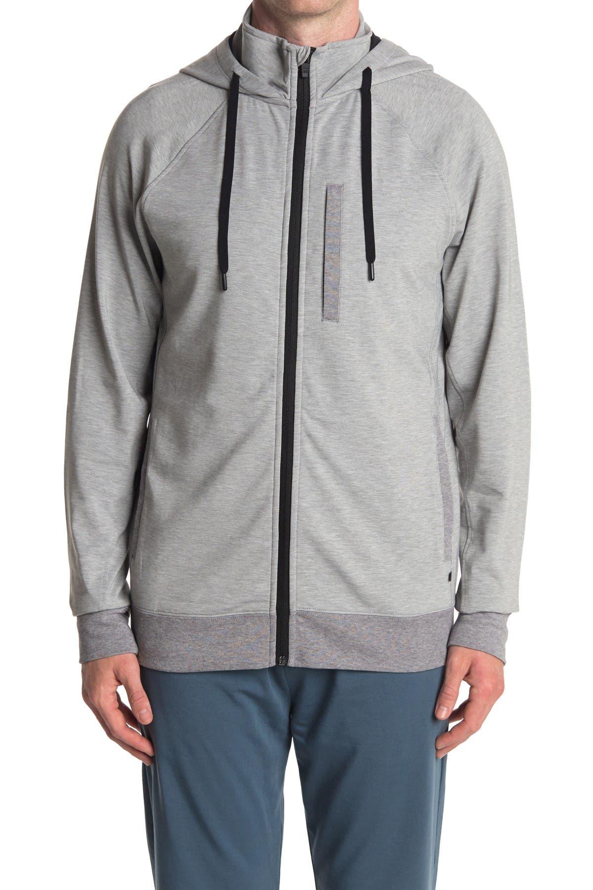 Tommy John Go Anywhere Dry Fleece Hoodie Jacket