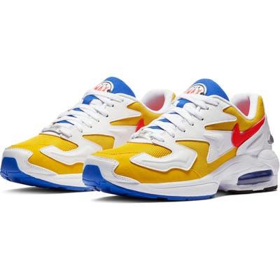 Nike Air Max2 Light Sneaker- Yellow