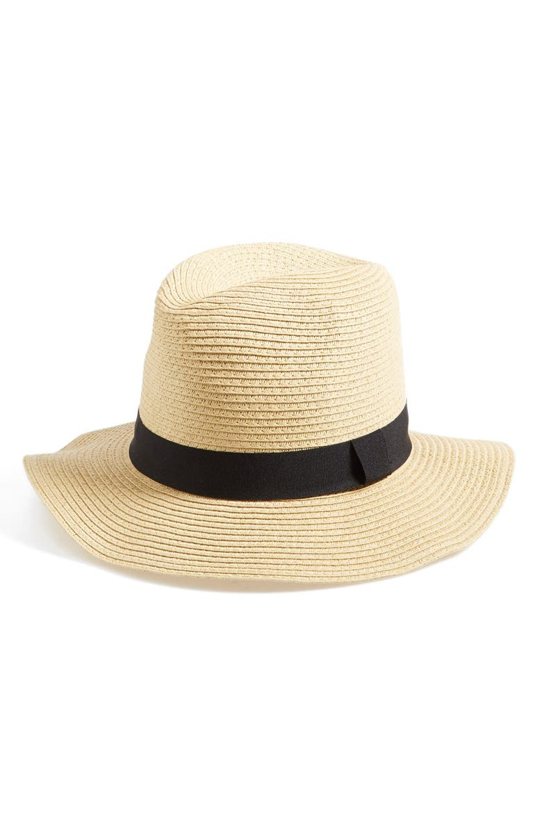 BP. Straw Panama Hat, Main, color, 250