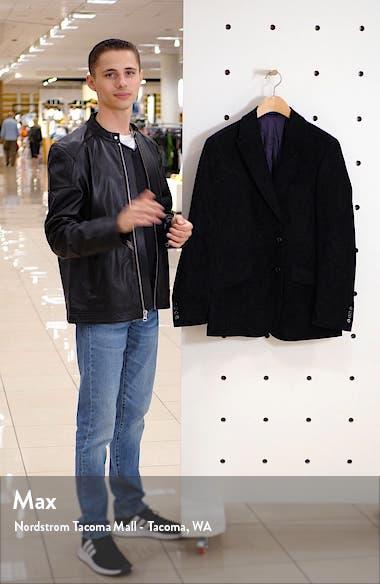 Spruce Regular Fit Velvet Sport Coat, sales video thumbnail