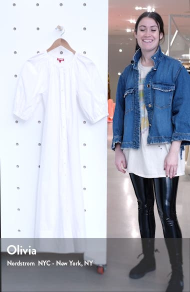 Vincent Puff Sleeve Maxi Dress, sales video thumbnail