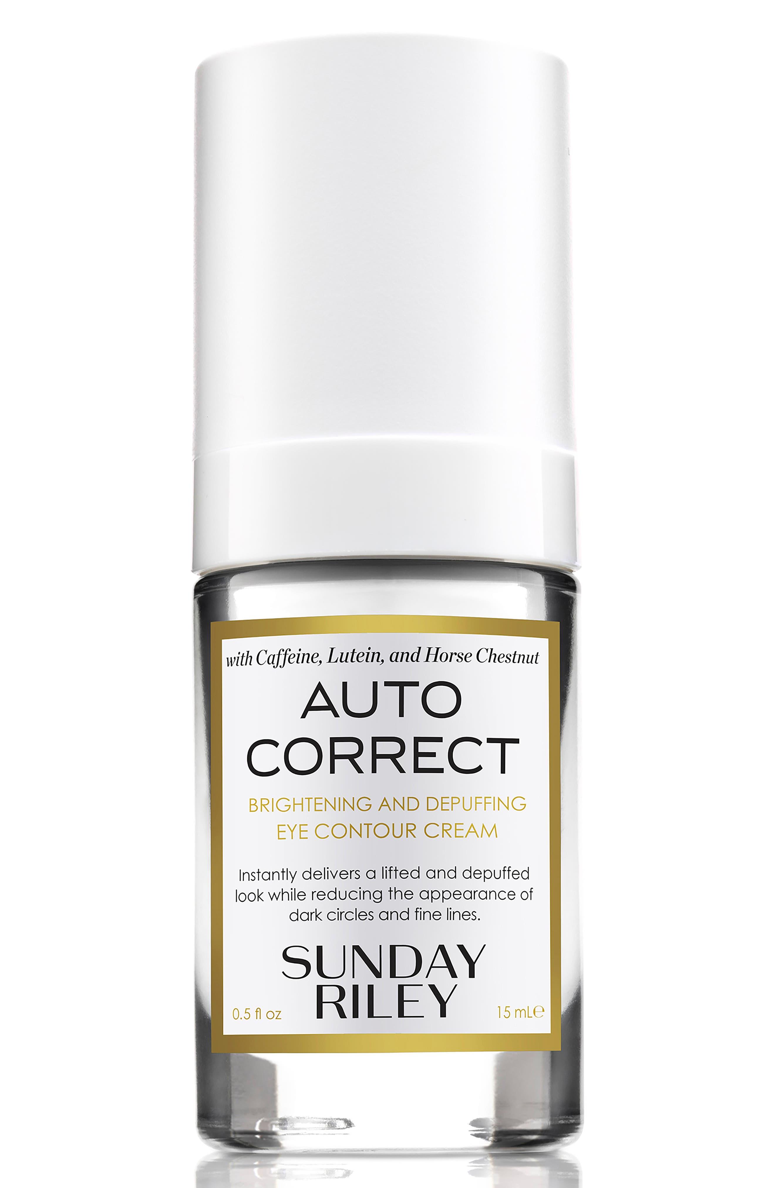 Sunday Riley Autocorrect Brightening and Depuffing Eye Contour Cream
