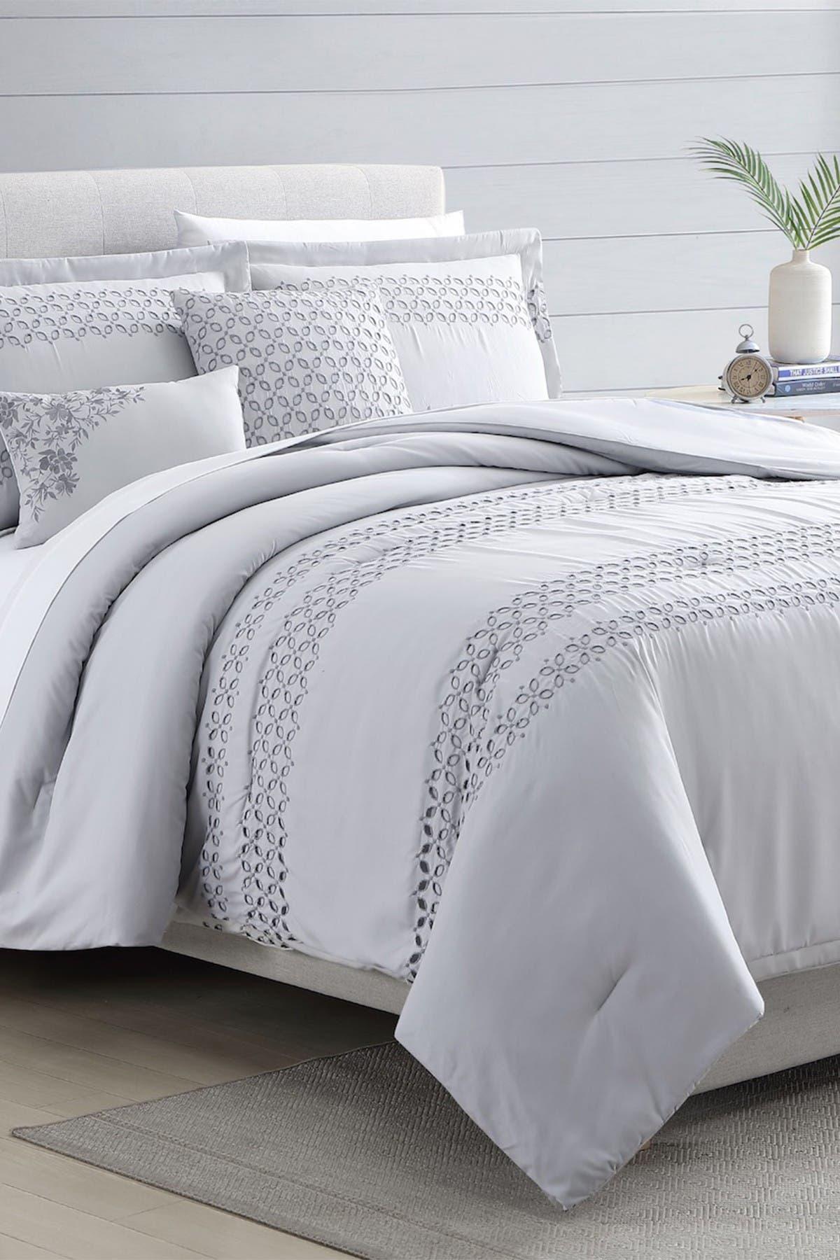 Modern Threads 5-Piece Embroidered Comforter Set - Queen at Nordstrom Rack