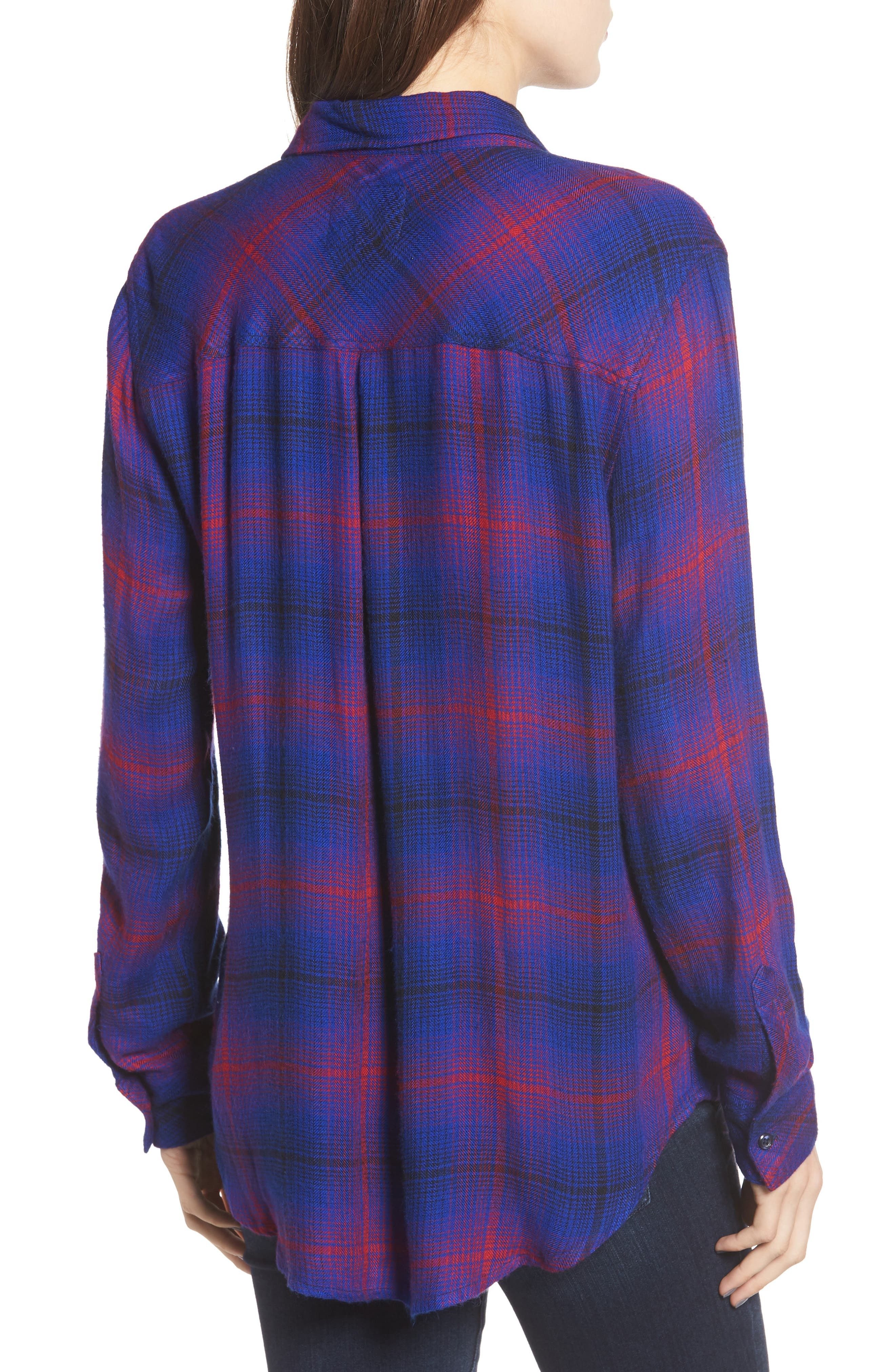 ,                             Hunter Plaid Shirt,                             Alternate thumbnail 310, color,                             408