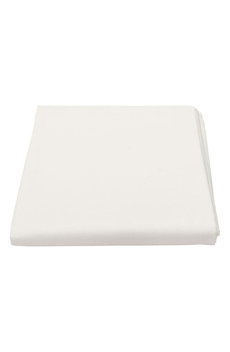NUNA SENA<sup>™</sup> aire Organic Cotton Fitted Sheet, Main, color, MOONBEAM