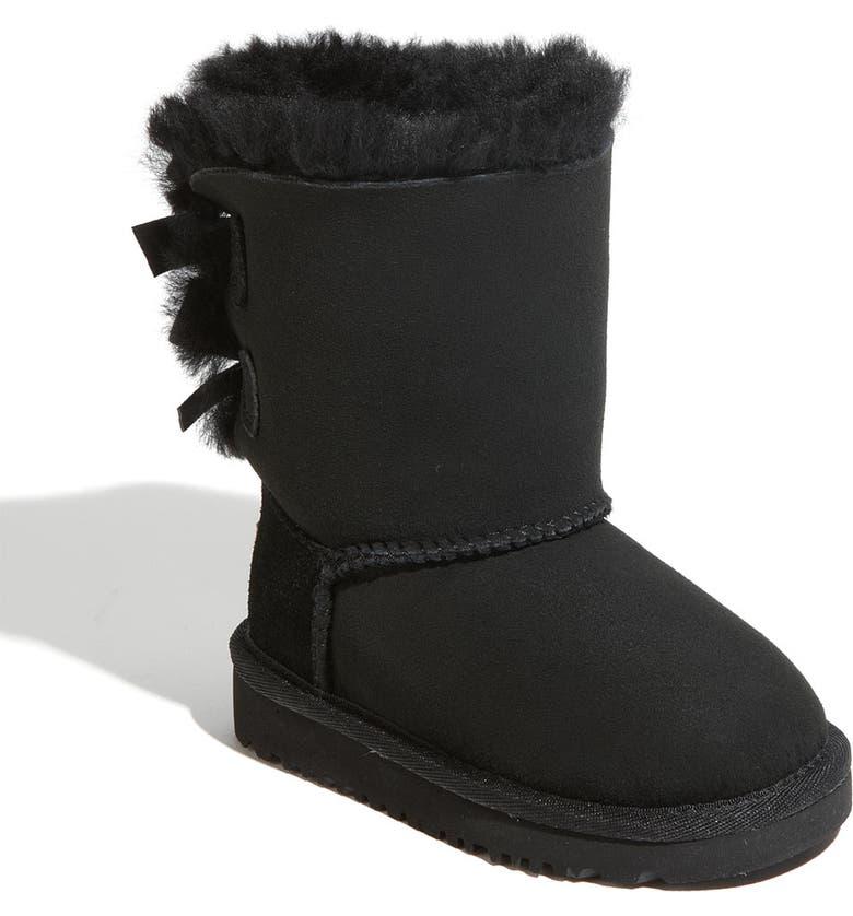 UGG<SUP>®</SUP> Bailey Bow Boot, Main, color, 001