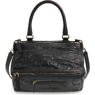 Givenchy Medium Pepe Pandora Leather Satchel -